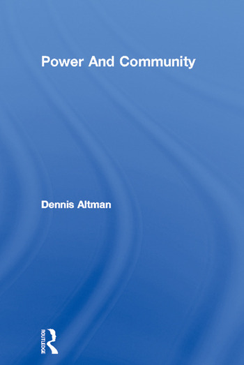 Power And Community book cover