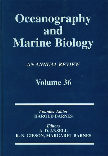 Oceanography And Marine Biology: An Annual Review Volume 36 book cover