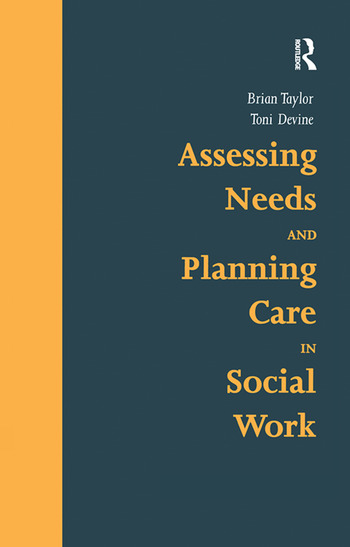 Assessing Needs and Planning Care in Social Work book cover