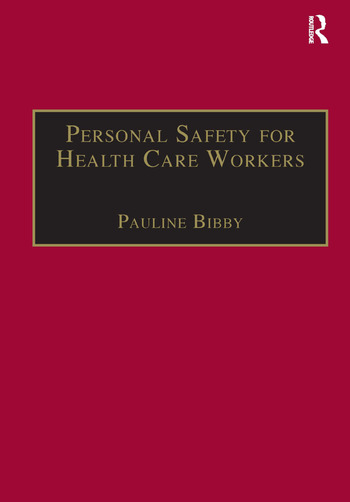 Personal Safety for Health Care Workers book cover
