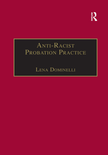 Anti-Racist Probation Practice book cover