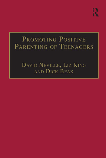 Promoting Positive Parenting of Teenagers book cover