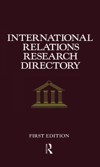 International Relations Research Directory book cover