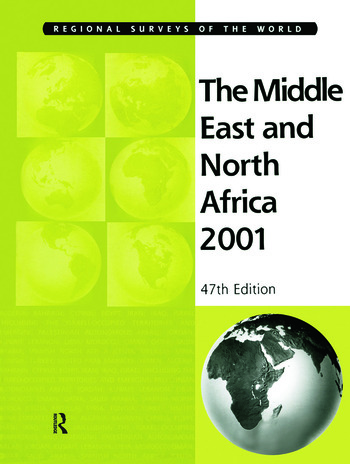 Middle East & Nth Africa 2001 book cover