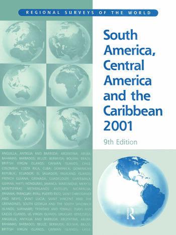 South America 2001 book cover