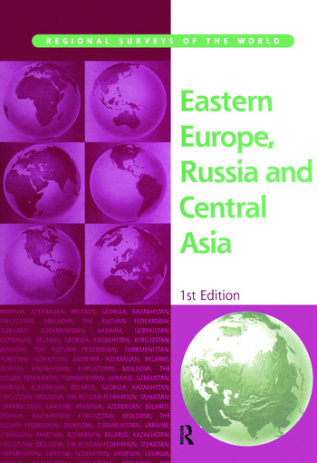 E.Europe Russia & C Asia 2001 book cover