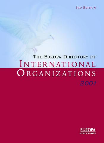 Europa Dir Intl Orgs 2001 book cover