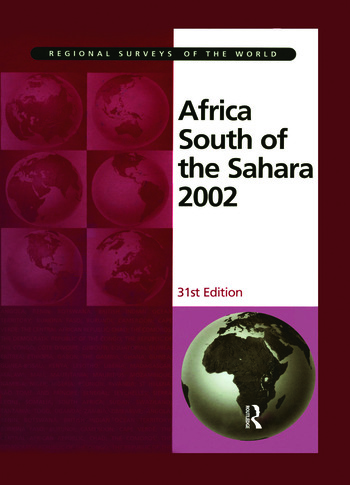 Africa South of the Sahara 2002 book cover