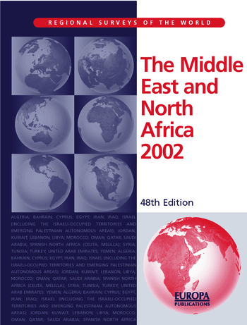 The Middle East and North Africa 2002 book cover