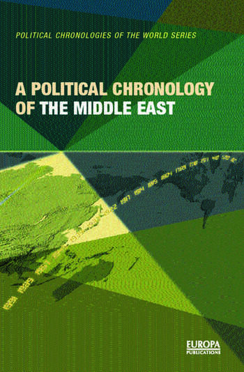 A Political Chronology of the Middle East book cover