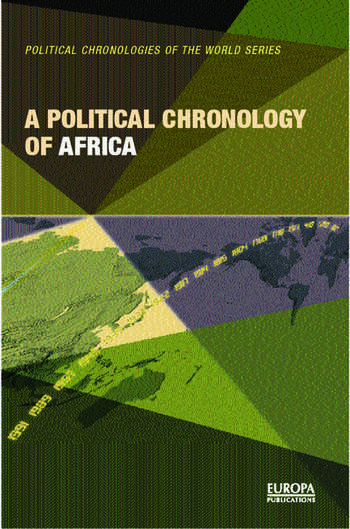 A Political Chronology of Africa book cover