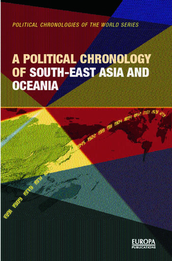 A Political Chronology of South East Asia and Oceania book cover