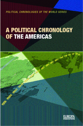 A Political Chronology of the Americas book cover