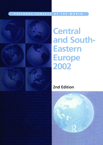 Central and South-Eastern Europe 2002 book cover