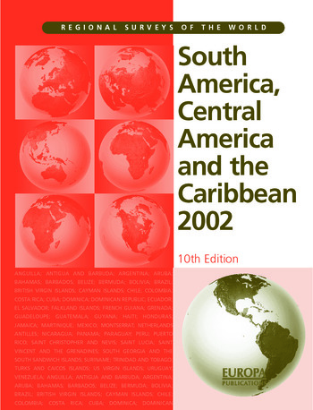 South America, Central America and the Caribbean 2002 book cover