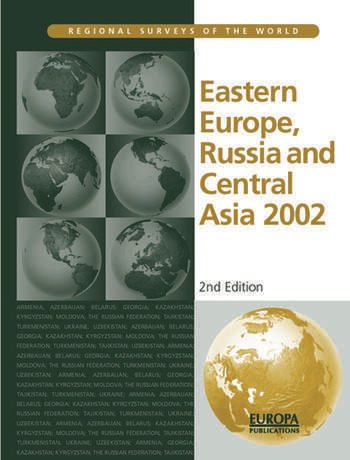 Eastern Europe, Russia and Central Asia 2002 book cover