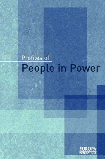 Profiles of People in Power The World's Government Leaders book cover