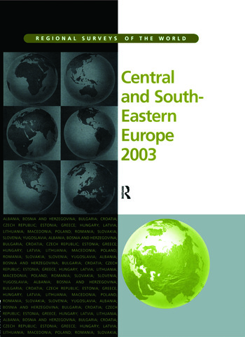 Central and South-Eastern Europe 2003 book cover
