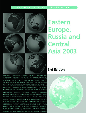 Eastern Europe, Russia and Central Asia 2003 book cover
