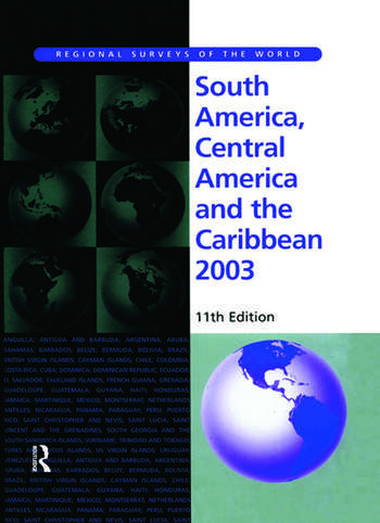 South America, Central America and the Caribbean 2003 book cover