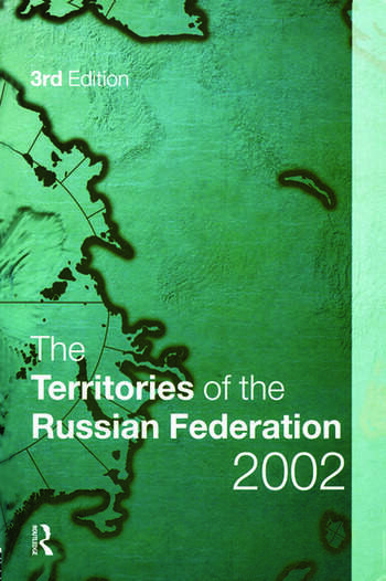 The Territories of the Russian Federation 2002 book cover