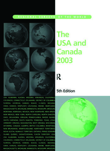The USA and Canada 2003 book cover