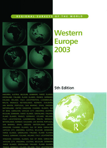 Western Europe 2003 book cover