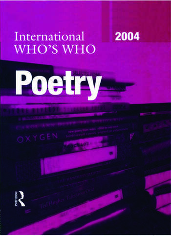 International Who's Who in Poetry 2004 book cover