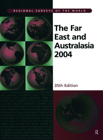 The Far East and Australasia 2004 book cover