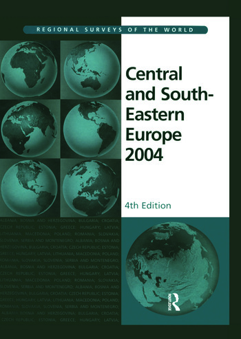 Central and South Eastern Europe 2004 book cover