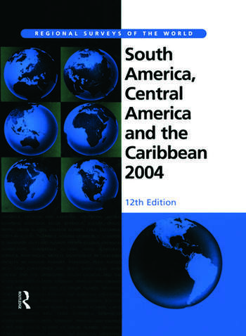South America, Central America and the Caribbean 2004 book cover
