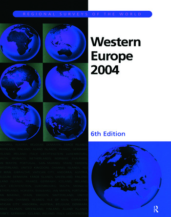 Western Europe 2004 book cover