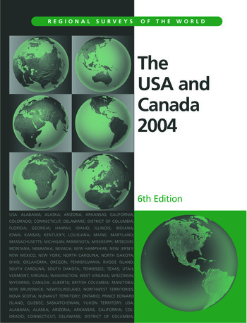 The USA and Canada 2004 book cover