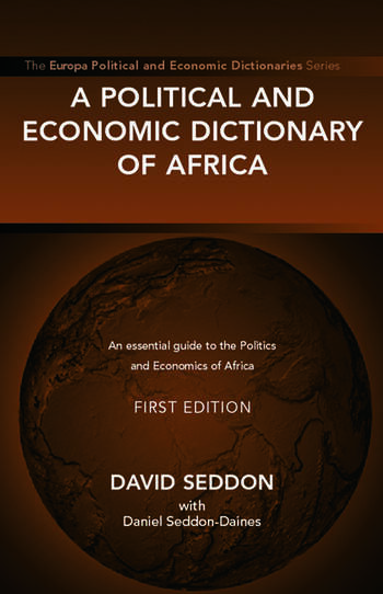 A Political and Economic Dictionary of Africa book cover