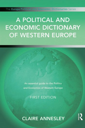 A Political and Economic Dictionary of Western Europe book cover