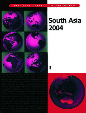 South Asia 2004 book cover
