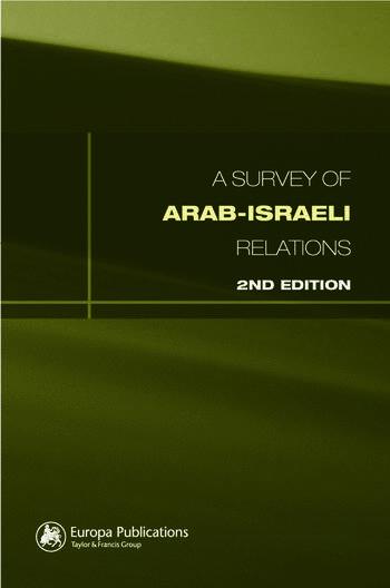 Survey of Arab-Israeli Relations book cover