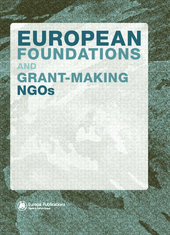 European Foundations and Grant-Making NGOs book cover