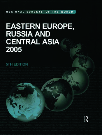 Eastern Europe, Russia and Central Asia 2005 book cover