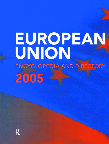 The European Union Encyclopedia and Directory 2005 book cover
