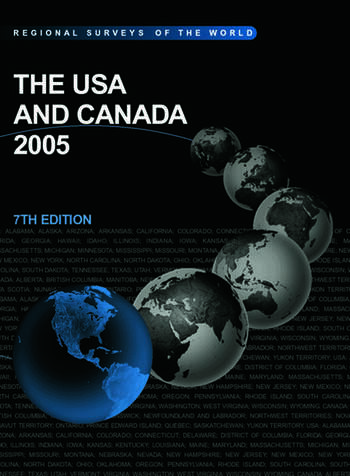 The USA and Canada 2005 book cover