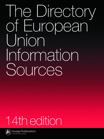 The Directory of EU Information Sources book cover