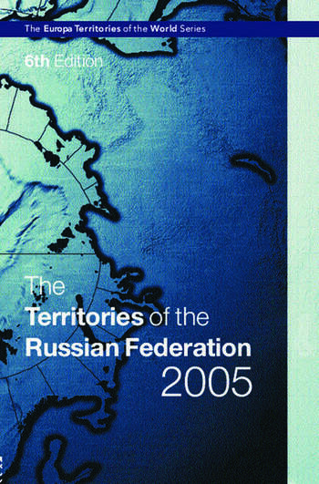 The Territories of the Russian Federation 2005 book cover