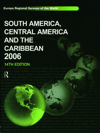 South America, Central America and the Caribbean 2006 book cover