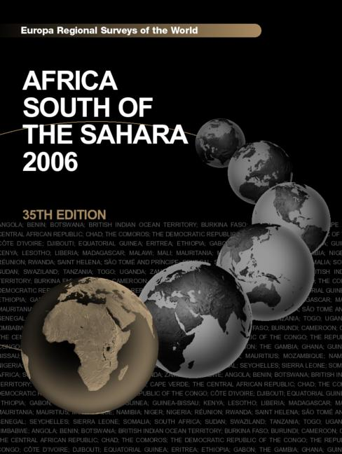 Africa South of the Sahara 2006 book cover