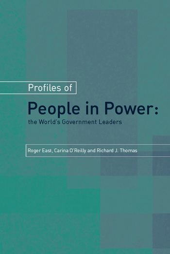 Profiles of People in Power book cover