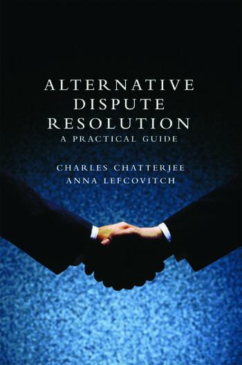 Alternative Dispute Resolution A Practical Guide book cover