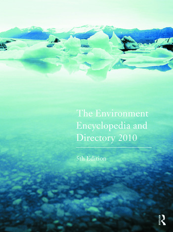 The Environment Encyclopedia and Directory 2010 book cover
