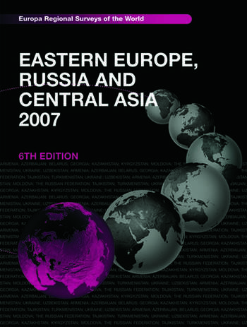 Eastern Europe, Russia and Central Asia 2007 book cover