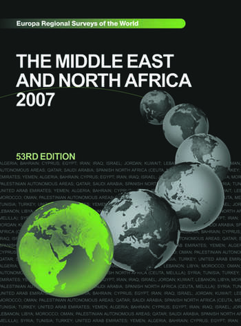 The Middle East and North Africa 2007 book cover